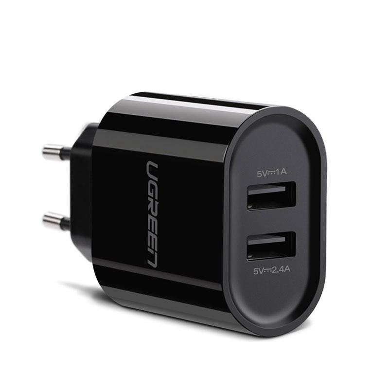 Dual USB Wall Charger – Universal Adapter UGREEN