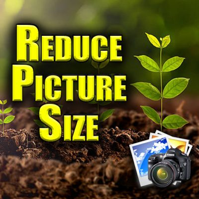 reduce picture size